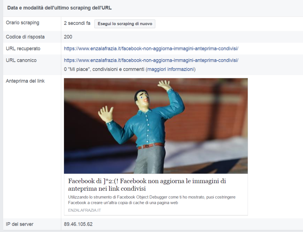 Debugger Facebook