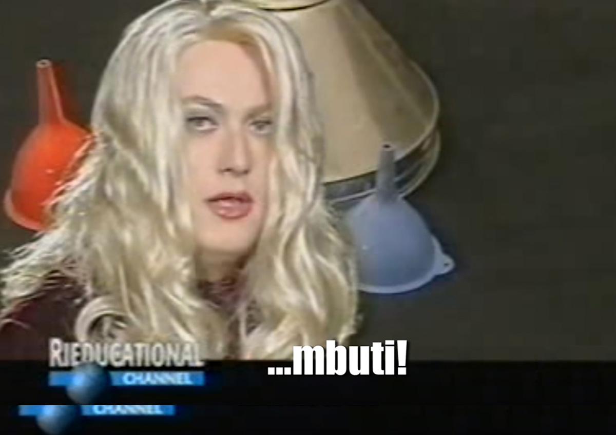 Rieducational channel imbuti Vulvia Corrado Guzzanti