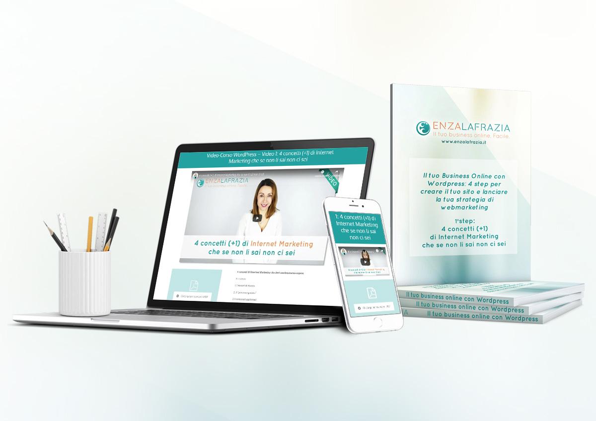 Accedi gratis al corso Il tuo business online con wordpress: Crea il tuo sito e lancia la tua strategia di web marketing
