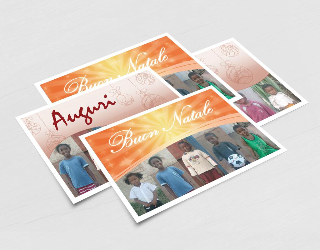 Luce Vera Onlus cartoline di Natale
