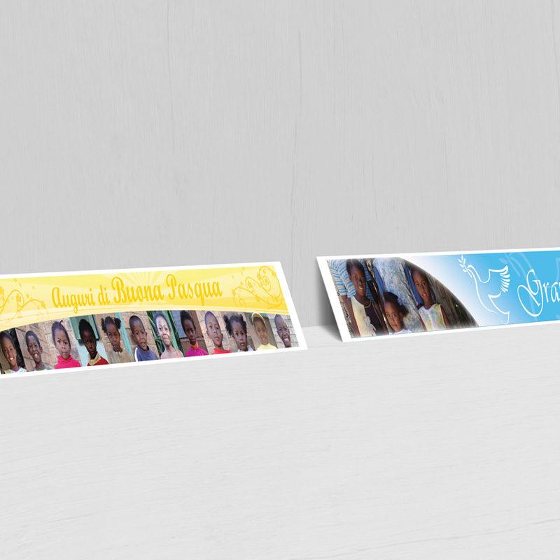 Luce Vera Onlus cartoline di Pasqua