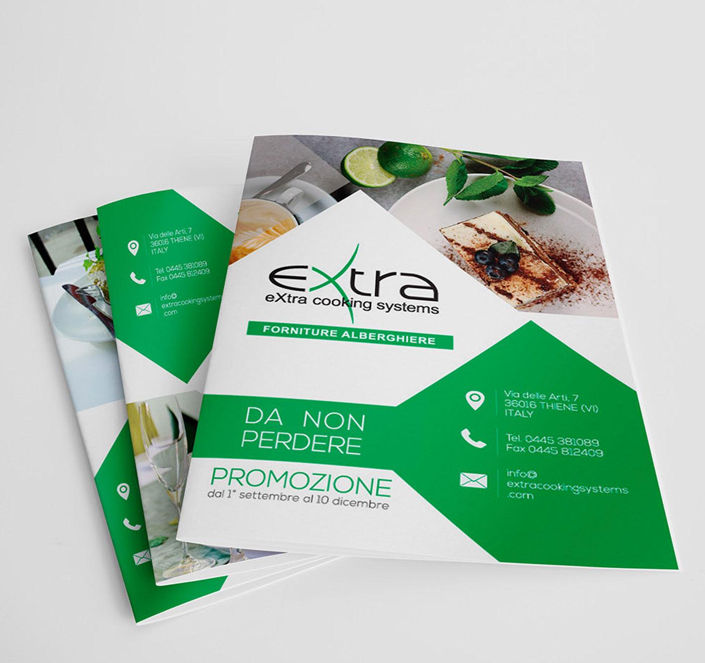 extracookingsystems creazione brochure