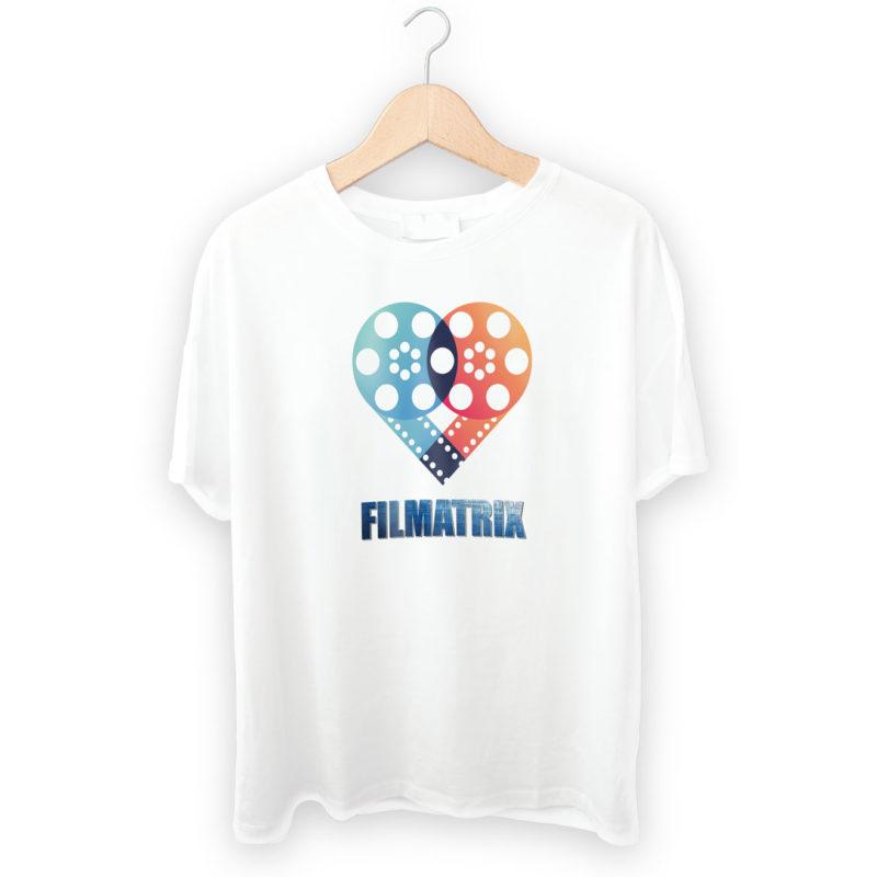 filmatrix progettazione grafica maglietta