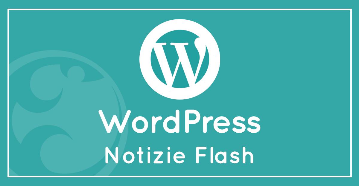 Notizie su Wordpress