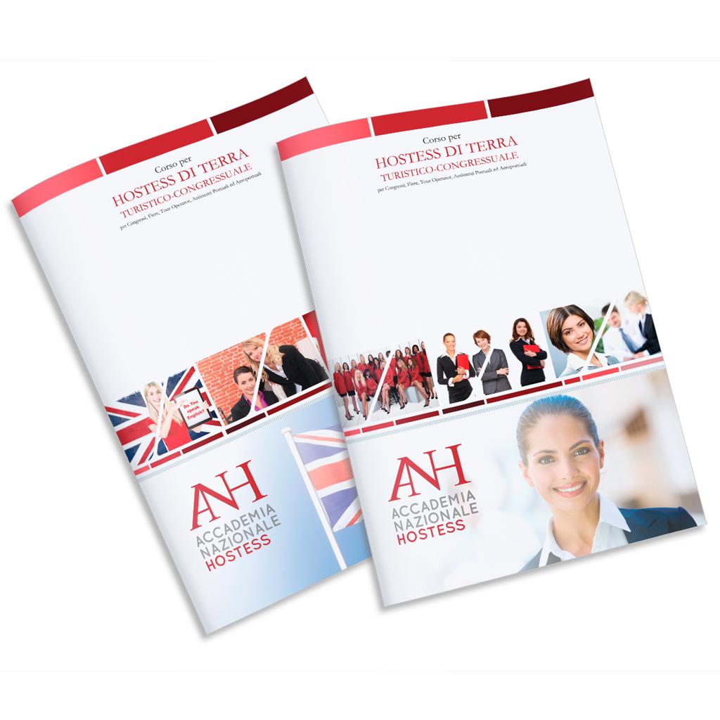 Accademia Nazionale Hostess creazione brochure