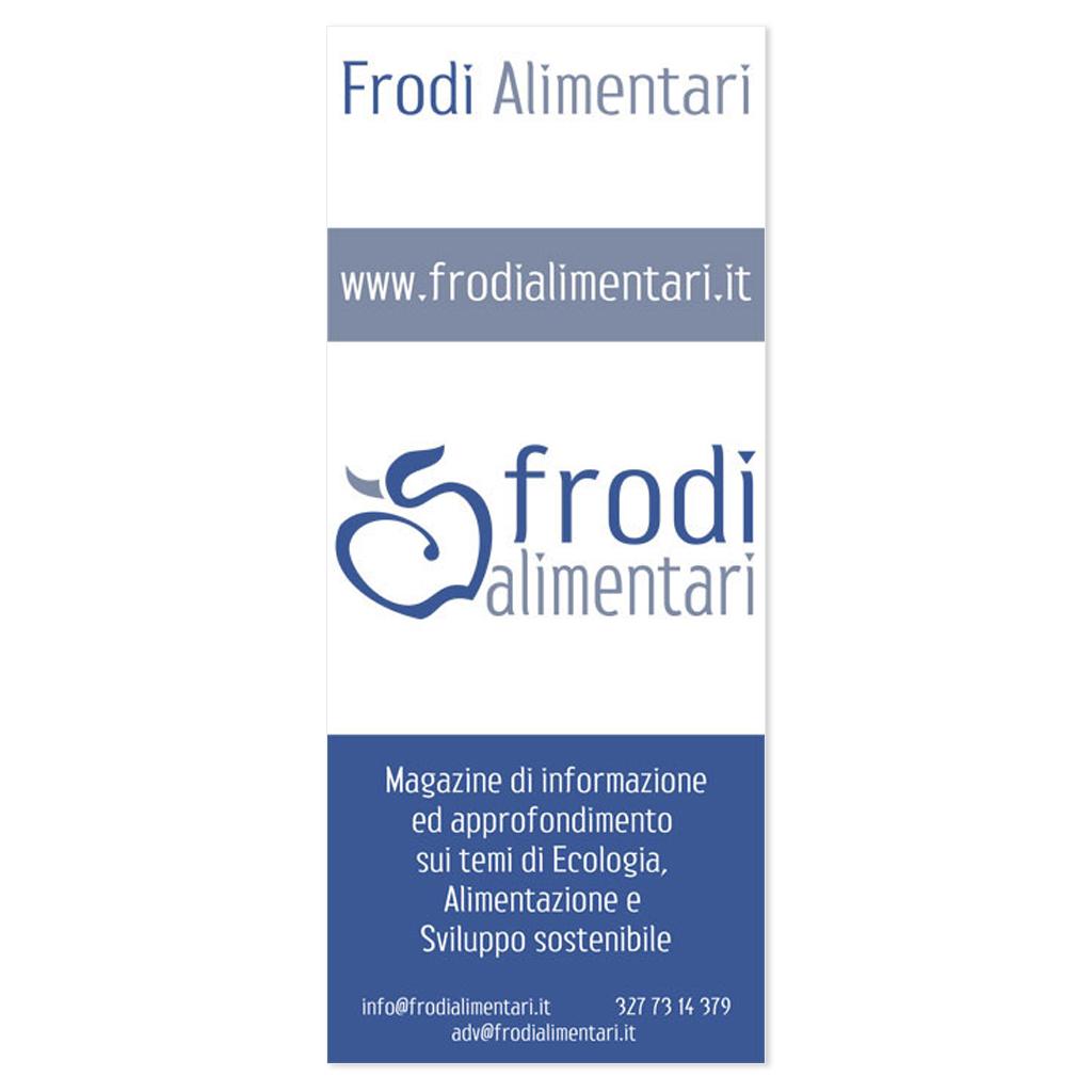 Frodi Alimentari progettazione flyer