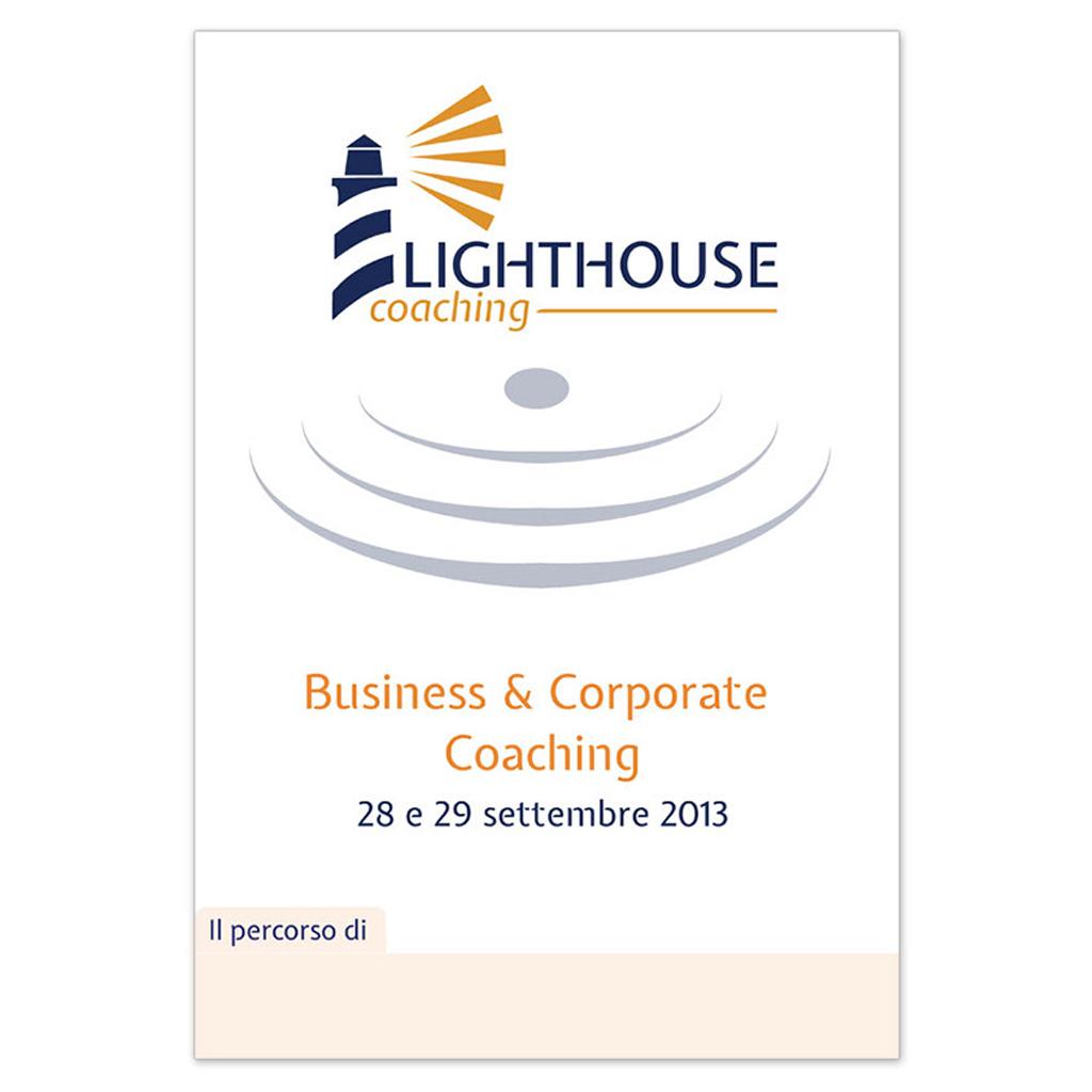 Lighthouse coaching creazione cartellina portadocumenti