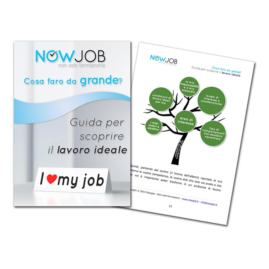 Nowjob formazione creazione brochure