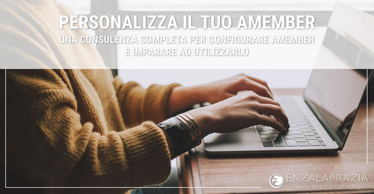 Consulenza personalizzazione Amember - Software di membership professionale