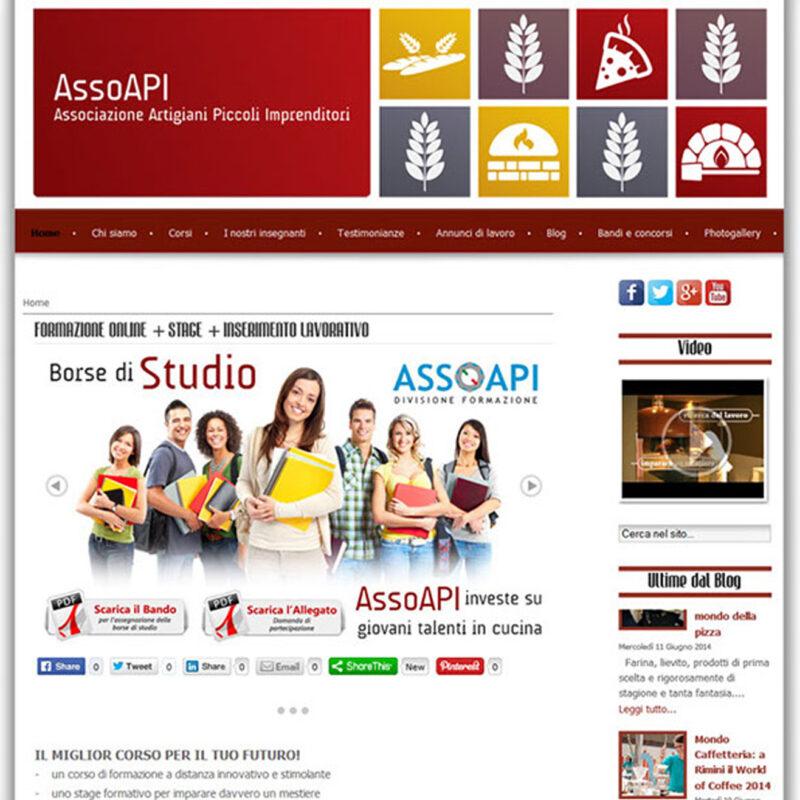 AssoAPI creazione sito web