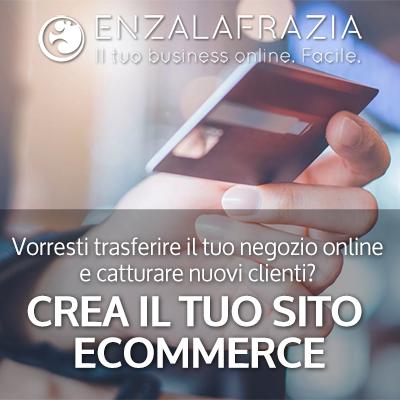 progettazione ecommerce pagamento online