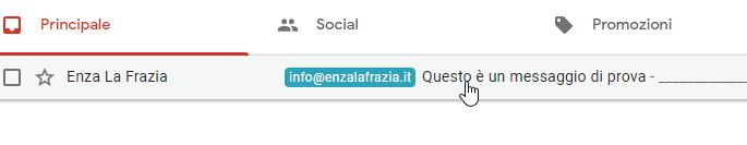 Etichetta email gmail