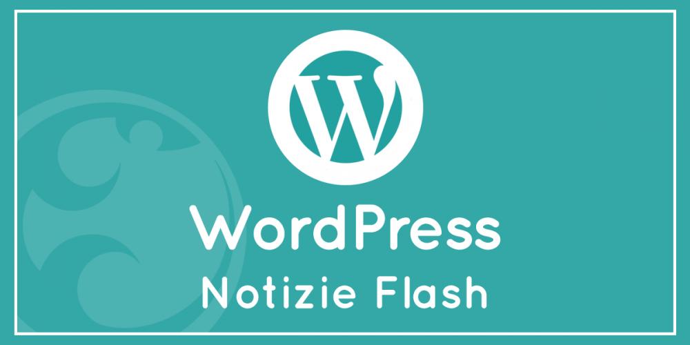 Grave bug per un plugin di WordPress